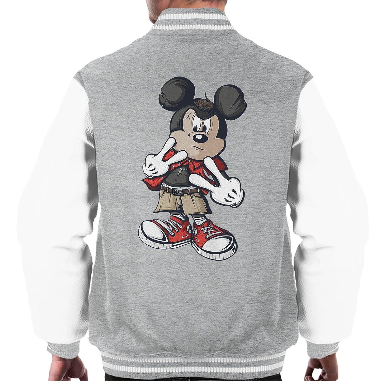 Gangsta Mickey Mouse Men's Varsity Jacket