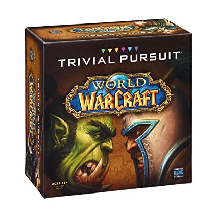Ultramoderne Amazon.com: TRIVIAL PURSUIT: World of Warcraft: Game: Toys & Games JE-82