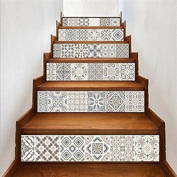 Extrem L-PJ Selbstklebende 3D Treppe Aufkleber im arabischen Stil Vinyl XF09