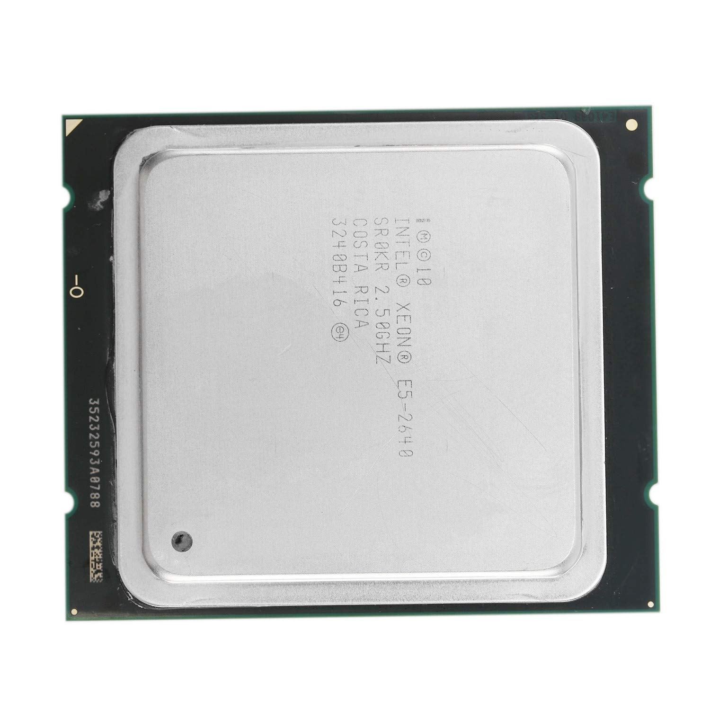 SODIAL Processeur Intel Xeon E5-2640 Cache 15Mo /à Six C?Urs 8,00 GT//S 95W LGA 2011 E5 2640 GHz 2,5