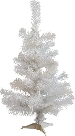 Artificiel Sapin de Noël Blanc 120 cm 300 Branches Noël Sapin Advent