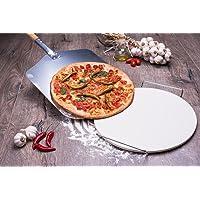 culinario Pizza Zubehör für Ihr Zuhause, Pizzaschaufel und Pizza-Set Pizzaschaufel, Pizzastein und Pizzamesser, verschiedene Auswahlmöglichkeiten