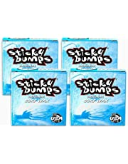 Sticky Bumps Surfboard Wax Original Cool/Cold Water Formula (4-Pack)