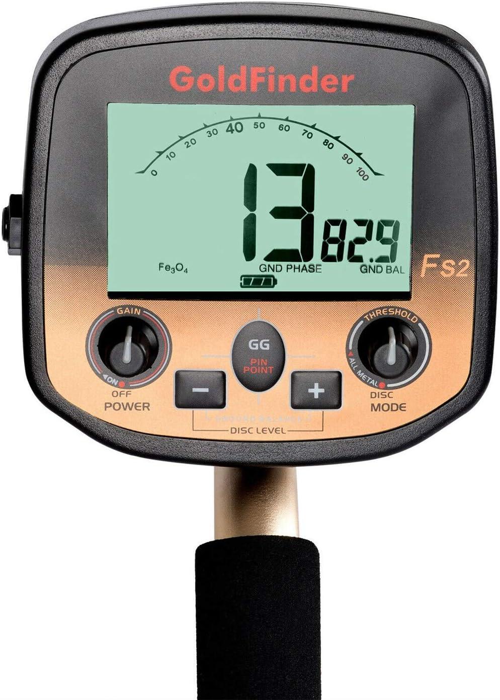 Xigeapg FS2 Underground Metal Detector Handheld Professional High Sensitivity Scanner 1 Set