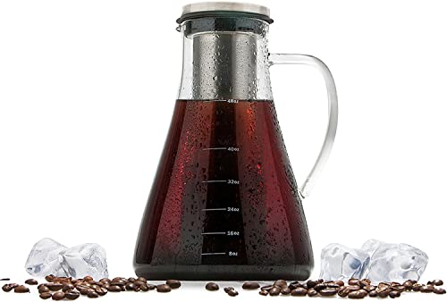 Cold Brew Iced Coffee Maker Kit and Tea Infuser