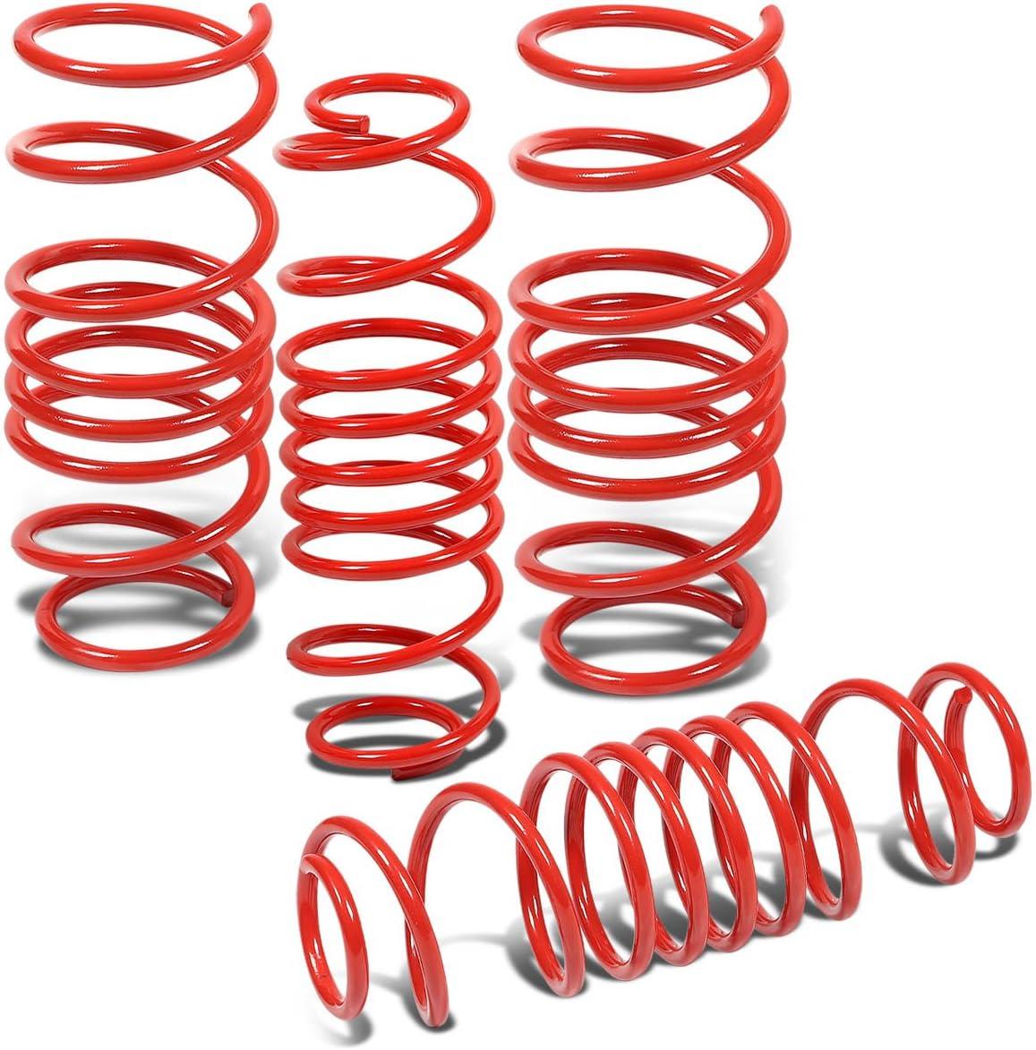 DNA Motoring LS-MZD2-RD Suspension Lowering Spring