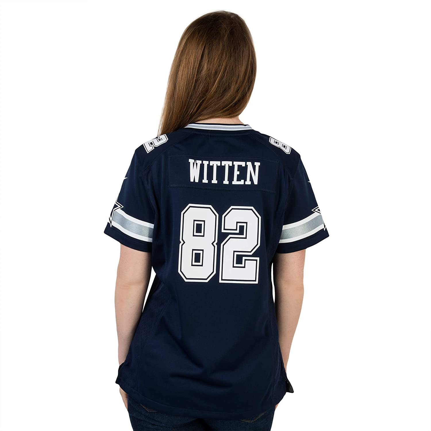 premium selection 7b73c e35ff Dallas Cowboys Womens Jason Witten #82 Nike Game Replica Jersey