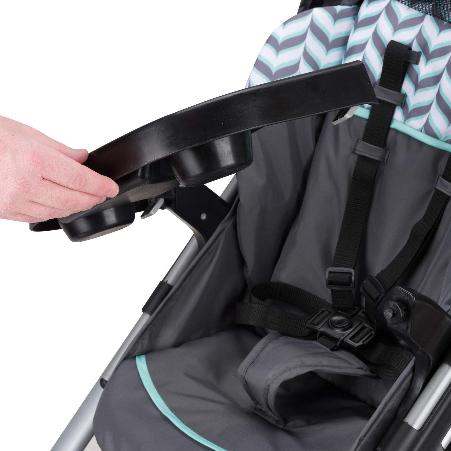 Evenflo Vive Travel System with Embrace Infant Car Seat, Spearmint Spree by Evenflo (Image #13)