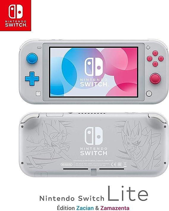 Nintendo Switch Lite - Consola Edición Zacian y Zamazenta, (Lite ...