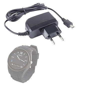 DURAGADGET Chargeur Secteur de première qualité pour montre connectée Martian Notifier, Martian Guess Connect et