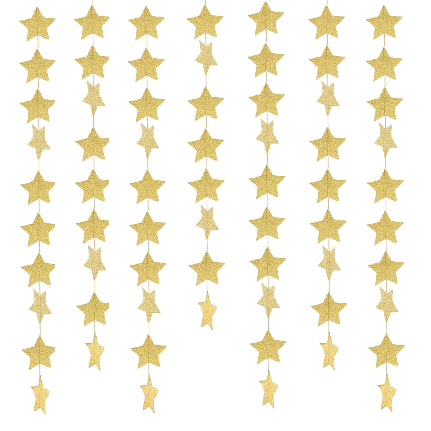Amazon Zooyoo Glitter Paper Confetti Star Wedding Party Decor