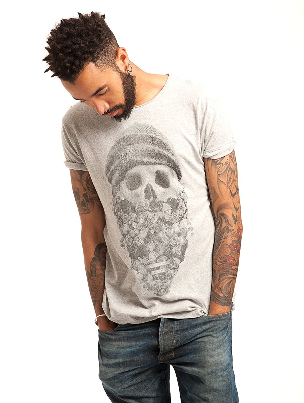 À Rags Manches T Loubard Homme Melange Xl Japan Shirt Courtes Grey rCxEdWQBoe
