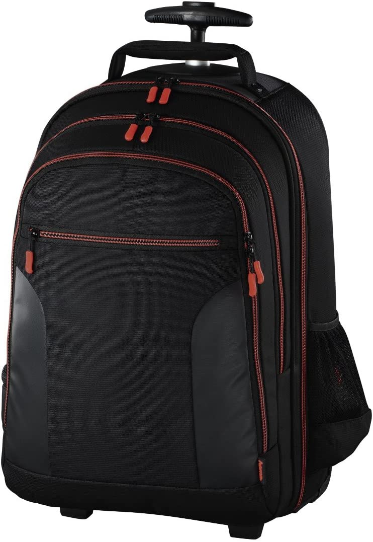 Hama Miami Trolley Case Negro, Rojo - Funda (Trolley Case, Universal, Compartimento del portátil, Negro, Rojo)