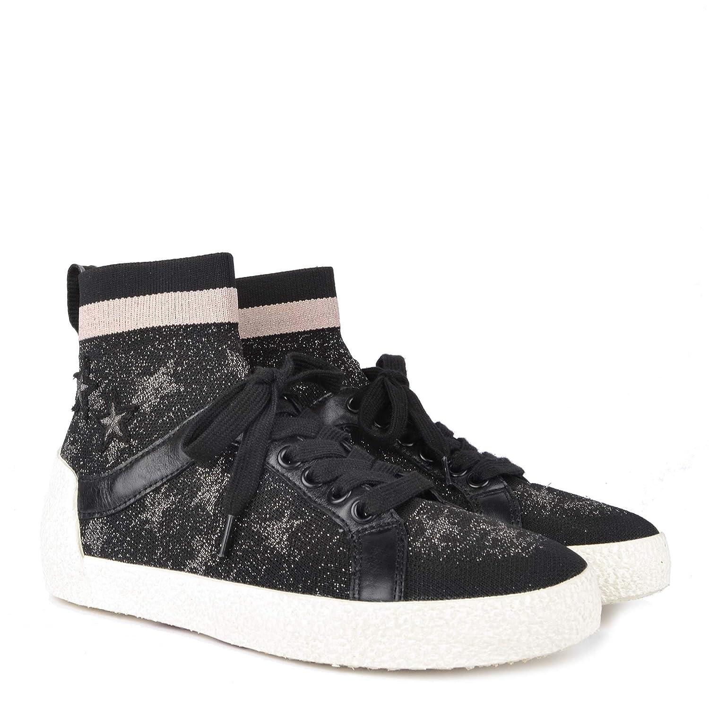 Ash Footwear Ninja Star Zapatillas Negras de Mujer con ...