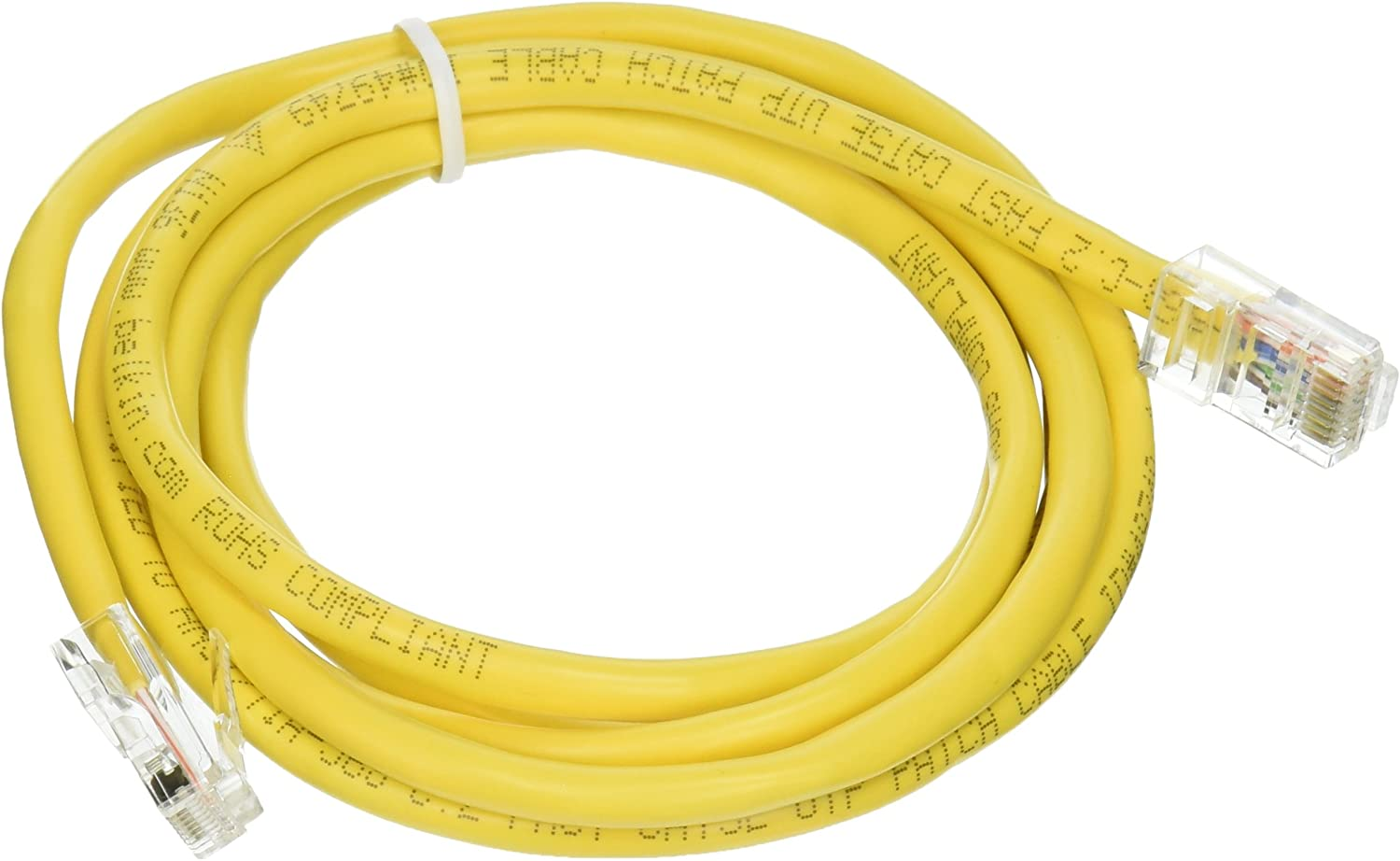 Cable,CAT5E,UTP,RJ45M//M,5,YLW,Patch