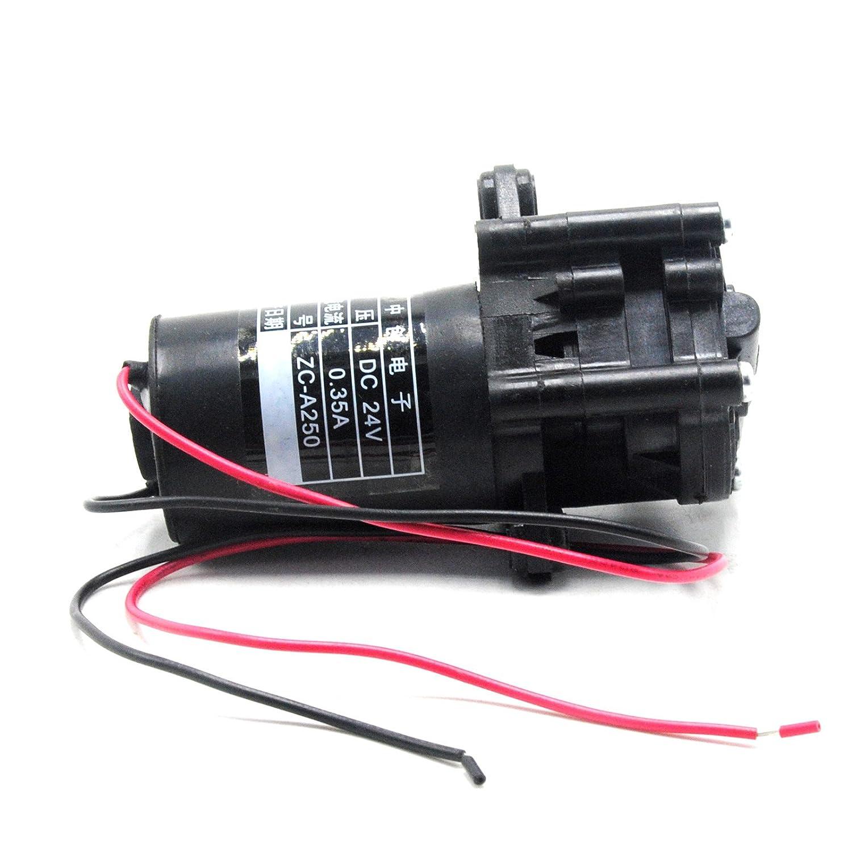 ZC-A250 DC 24V Mini Kunststoff selbstansaugende Zahnradpumpe Wasserpumpe Pumpe