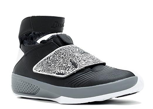 39fc6c94ba3b4 Nike air Jordan XX 20 Mens hi top Trainers 310455 Sneakers Shoes (UK 7 US 8  EU 41, Black White Cool Grey 003)