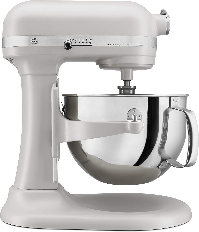 KitchenAid 6-Quart Pro 600 Bowl-Lift Stand Mixer   Milkshake (Renewed)