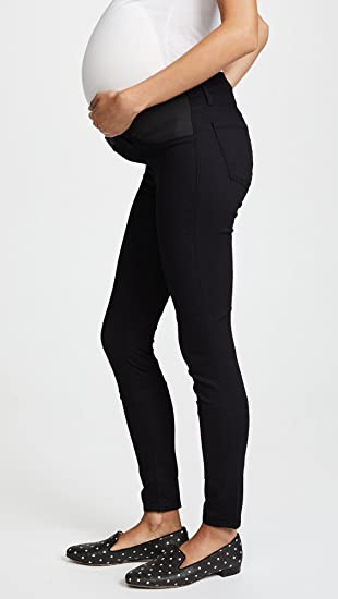 621ae370d35f1 Amazon.com: J Brand Women's 3401 Maternity Legging Jeans, Pitch, Black, 24:  Clothing