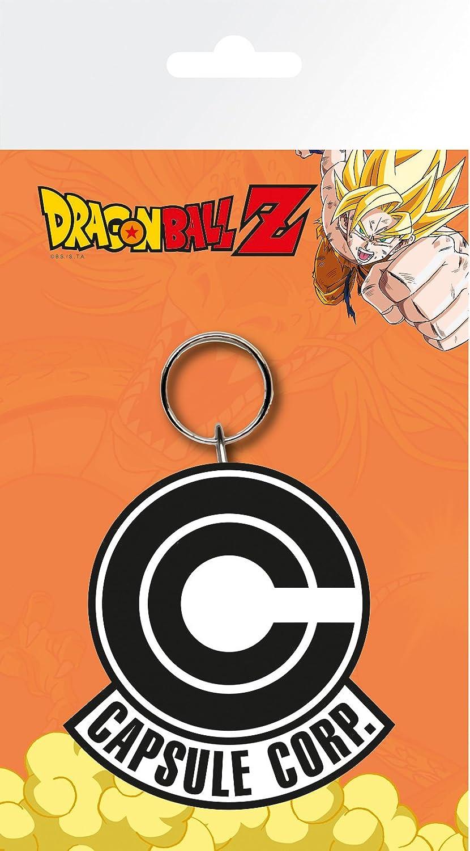 GB Eye LTD, Dragon Ball Z, Capsule Corp Logo, Llavero ...