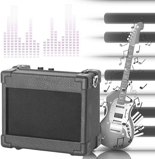 logicstring guitarra amplificador de guitarra AMP, 5 W Mini Micro ...