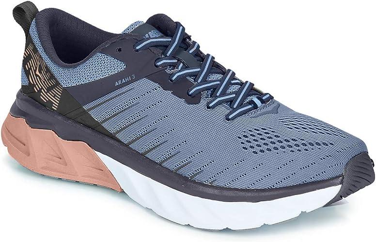 HOKA ONE ONE Arahi 3 Zapatillas de correr para mujer, (Allure Mood ...