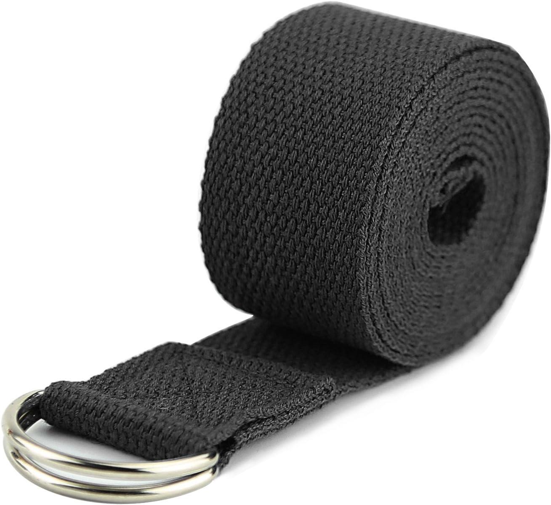 Amazon.com : #FFFFFFT Yoga Strap - Durable Cotton Exercise ...
