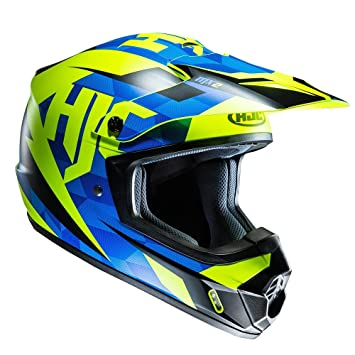 Casco Mx Hjc Cs-Mx Ii Dakota Azul-Fluorescent (L , Azul)