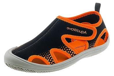 7239d8f01e AQUAWAVE Kinder Wasserschuhe für Mädchen und Jungen – mit Klettverschluss –  Idealer Schutz für Füße an