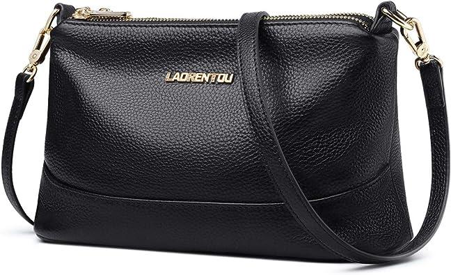 Women Genuine Leather Handbag Shoulder Bag Satchel Crossbody Large Capacity