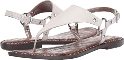 eaefab649 Sam Edelman Women s Greta Bright White Botalatto Tumbled Leather 4 M US