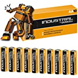 Industrial by Duracell MN1500 - Pila alcalina, AA LR06, 10 Unidades