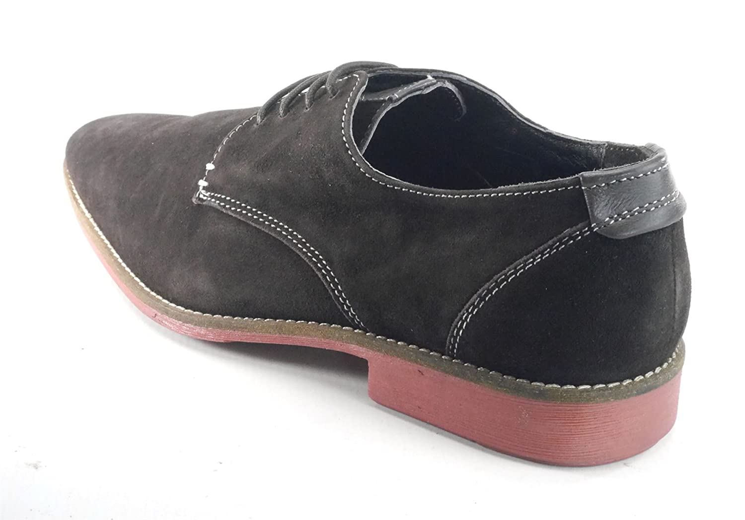 Jones Bootmaker Mens Suede 4 Eye Derby Loafer Tan or Navy: Amazon.co.uk:  Shoes & Bags