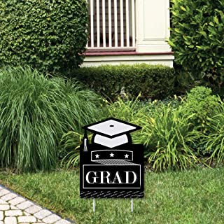 product image for Big Dot of Happiness Graduation Cheers - Outdoor Lawn Sign - Graduation Party Yard Sign - 1 Piece