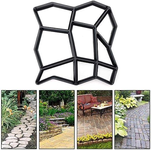 Gaocheng Molde de Patio para Patio de jardín – 35 x 35 x 3,6 cm – plástico –