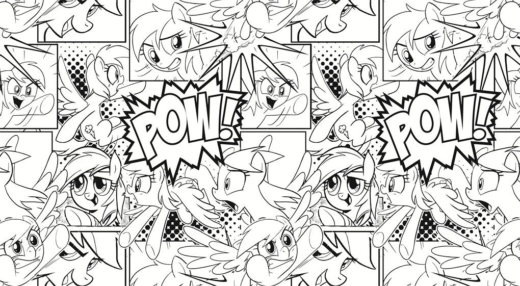 My Little Pony Creative Colouring Book Amazon Co Uk My Little Pony
