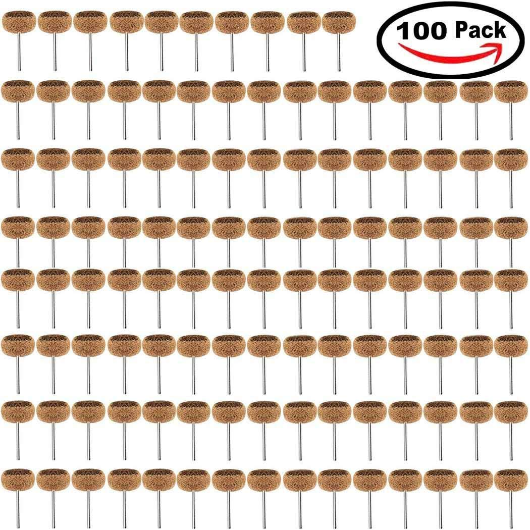Maslin Mix 1 4 Proxxon Abrasive 1 Set Wheels Brown Buffing 8inch Unisex Abrasive Wheels 5cm DY Casual For Polishing Grit 25mm - (Color: Brown)