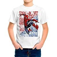Camiseta Niño - Unisex Superhéroes Spiderman