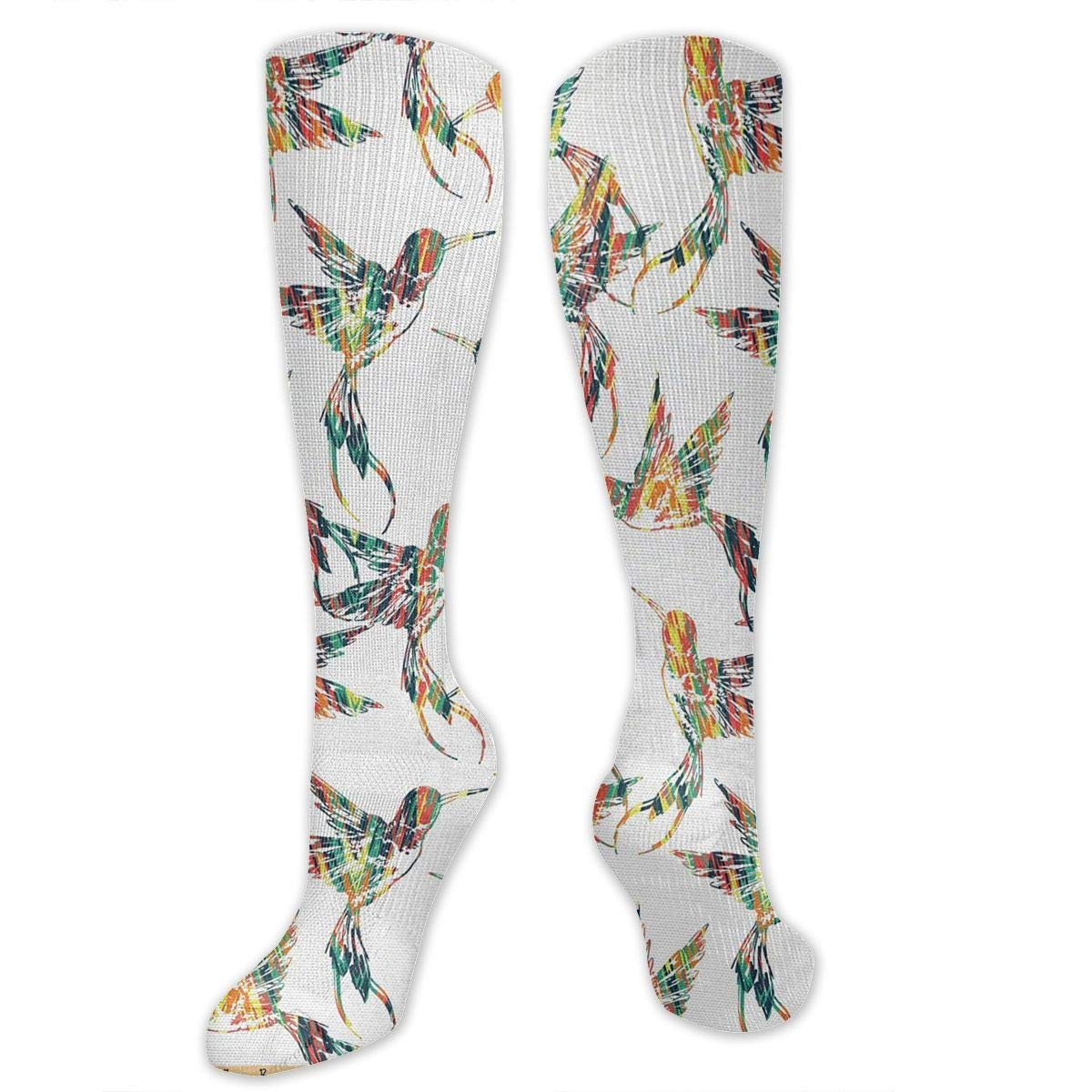 3bdfe53e579e Chanwazibibiliu Grungy Looking Colorful Bird Figures Mens Colorful Dress  Socks Funky Socks Men Multicolored Pattern Fashionable Fun Crew ...