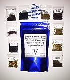 Virgin Seed Supply 10 Herb Variety Seed Pack 7,000 Herb Seeds Cilantro Basil Thyme Parsley Chives Cumin Mustard Lemon Mint Oregano Dill -Non-GMO Organic Heirloom