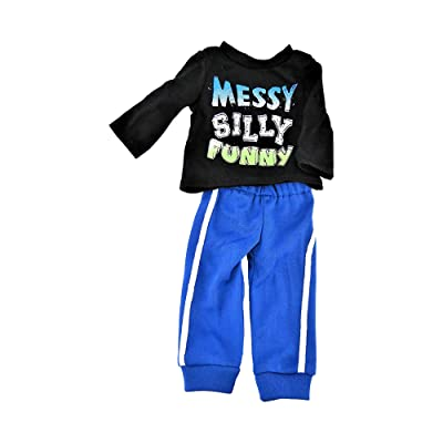 "Messy, Silly, Funny! Pant Set -Fits 18"" American Girl Dolls, Madame Alexander, Our Generation, etc. 