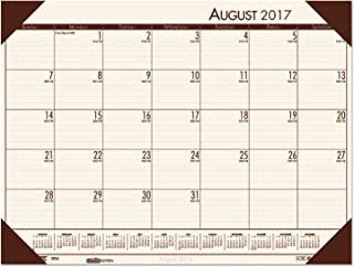 product image for House of Doolittle 2017-2018 Academic Desk Pad Calendar, EcoTones, Cream, 18.5 x 13 Inches, August - July (HOD012541-18)