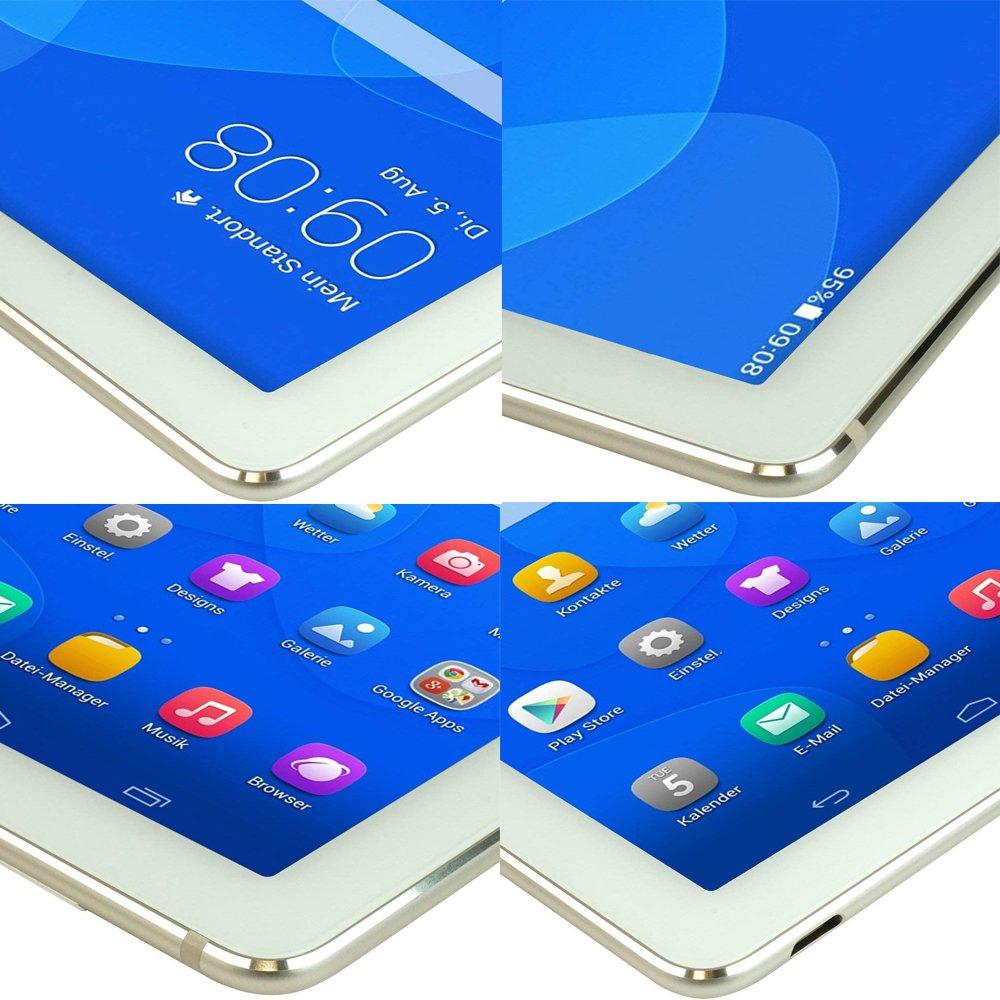 Protector de Pantalla para Huawei MediaPad M5 Lite 10 iVoler Cristal Vidrio Templado Premium 2 Unidades