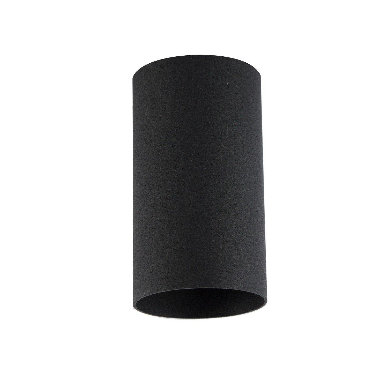 Lot de 10 plafonniers ronds encastrables GU10 Noir ElectroStyle