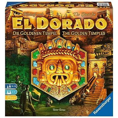 Ravensburger The Quest for El Dorado: Golden Temples Adventure Family Game for Ages 10 & Up - 2ND Expansion to 2020 Spiel De Jahres Finalist (26129): Toys & Games
