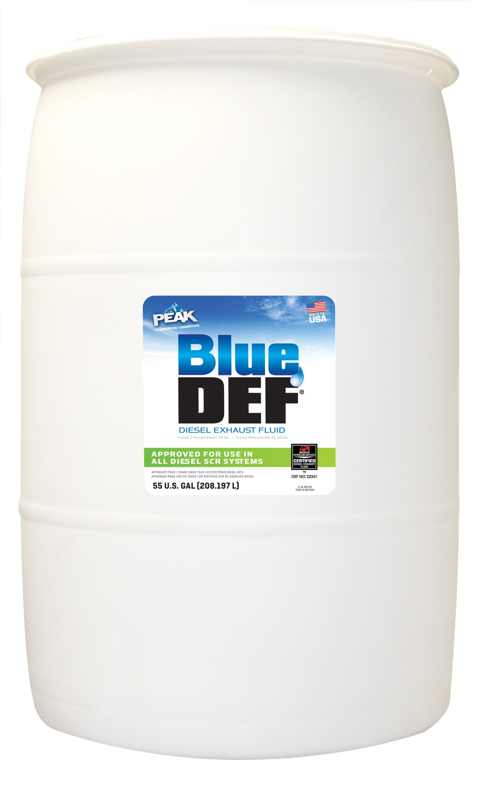 BlueDEF DEF001 Diesel Exhaust Fluid - 55 Gallon Drum by BlueDEF (Image #1)