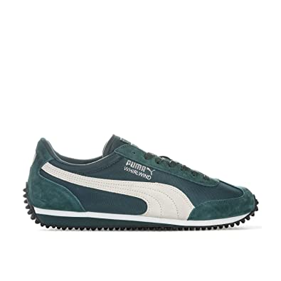 2a2c58c76b87 Puma Mens Mens Whirlwind Winterized Trainers in Green - UK 7.5 ...