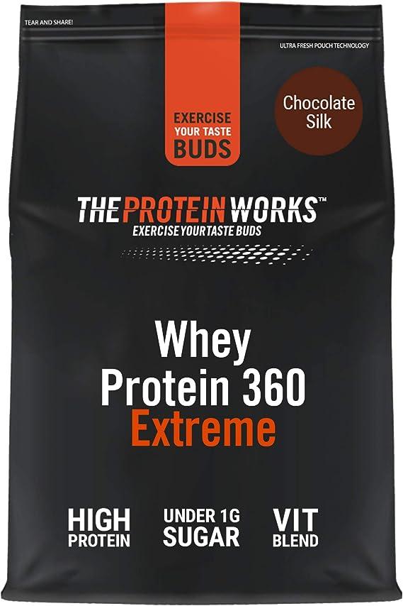 Batido de Proteína Whey 360 Extreme | Bolsa de 1,2Kg | Sabor ...