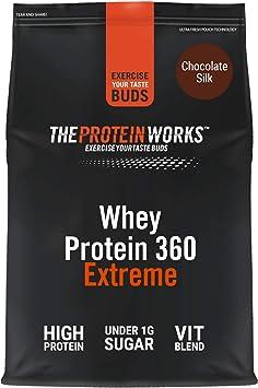 Batido de Proteína Whey 360 Extreme | Bolsa de 1,2Kg | Sabor chocolate | Proteína de suero