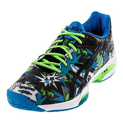 Asics Men's Gel Solution Speed 3 NYC Limited Edition Tennis Shoe (9, White/